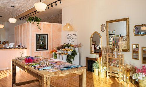 Interior photo of Fleur Floral Studio