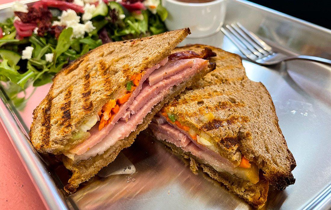 Sandwich from VanDeli in Ava, Missouri