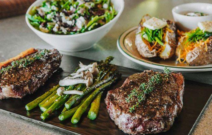 Big Cedar Lodge food on display