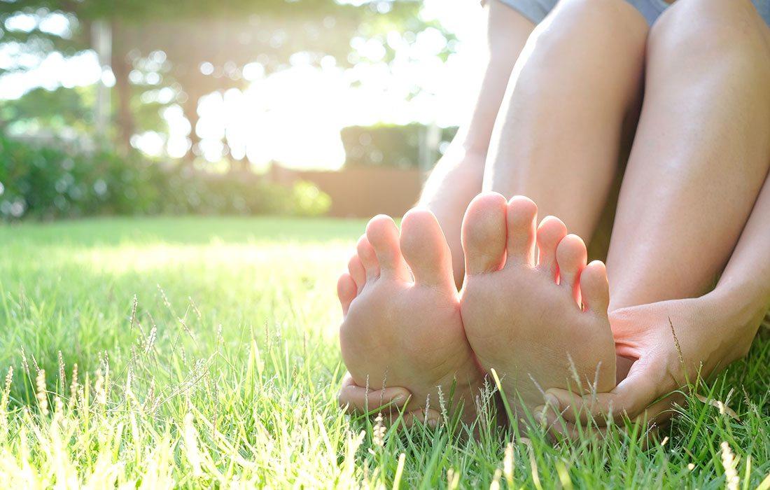 Exfoliating Foot Peel in The Ozarks