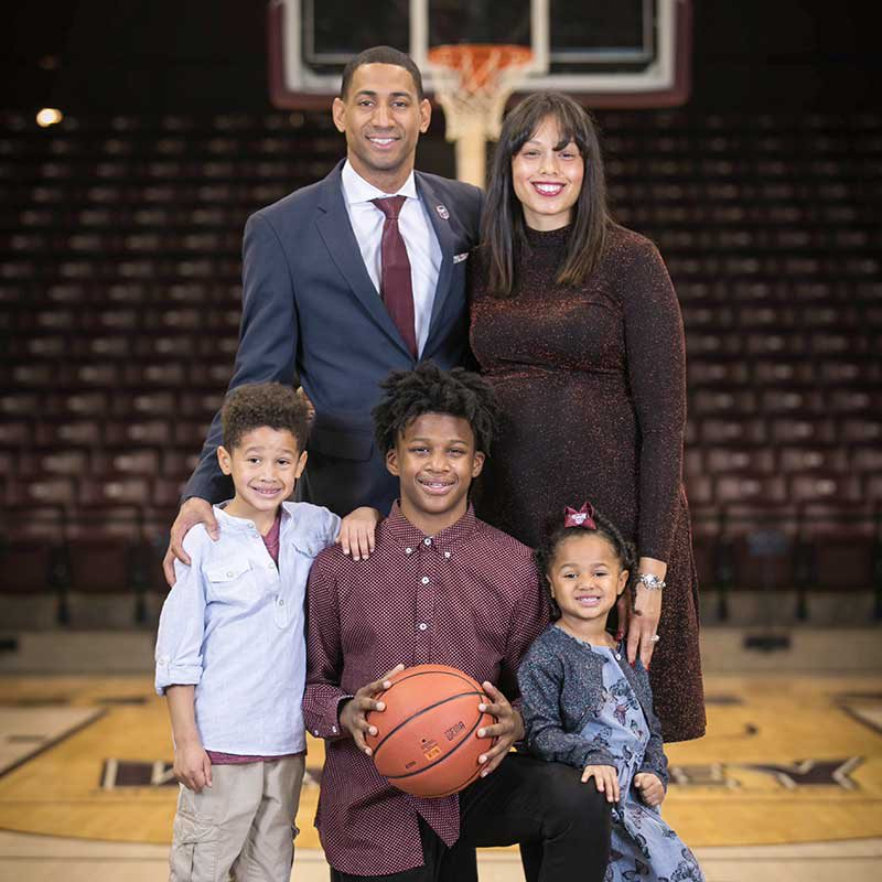Dana Ford, Christina Ford, Carson Ford, Cameron Ford, Charlie Rose Ford, Crain Bo Ford, Ford family Missouri State University Basketball Coach