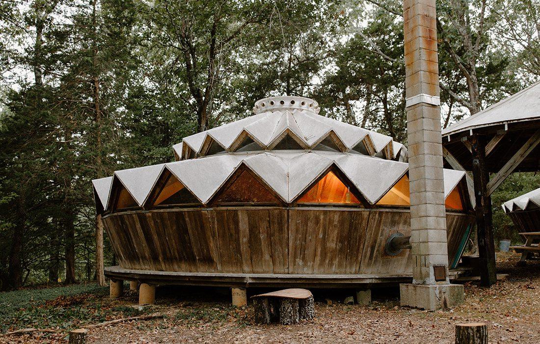 Garden Forest Yurts Reeds Spring