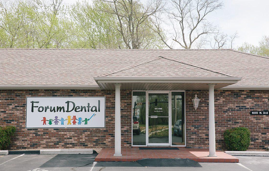 Exterior of Forum Dental in Ozark, MO