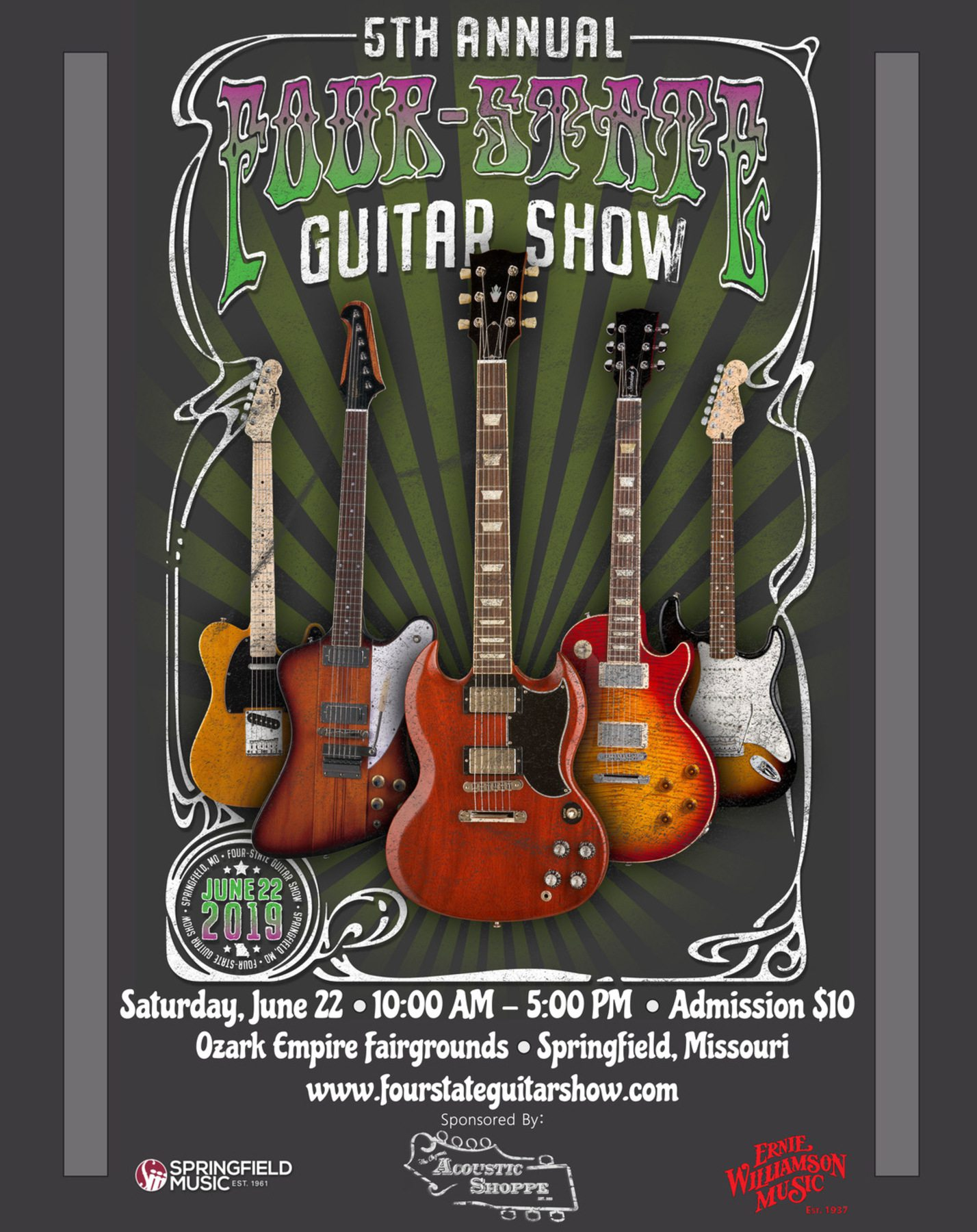 Four-State Guitar Show in Springfield, MO