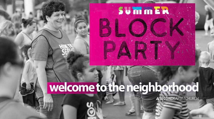 Free Summer Block Party in Springfield, MO.