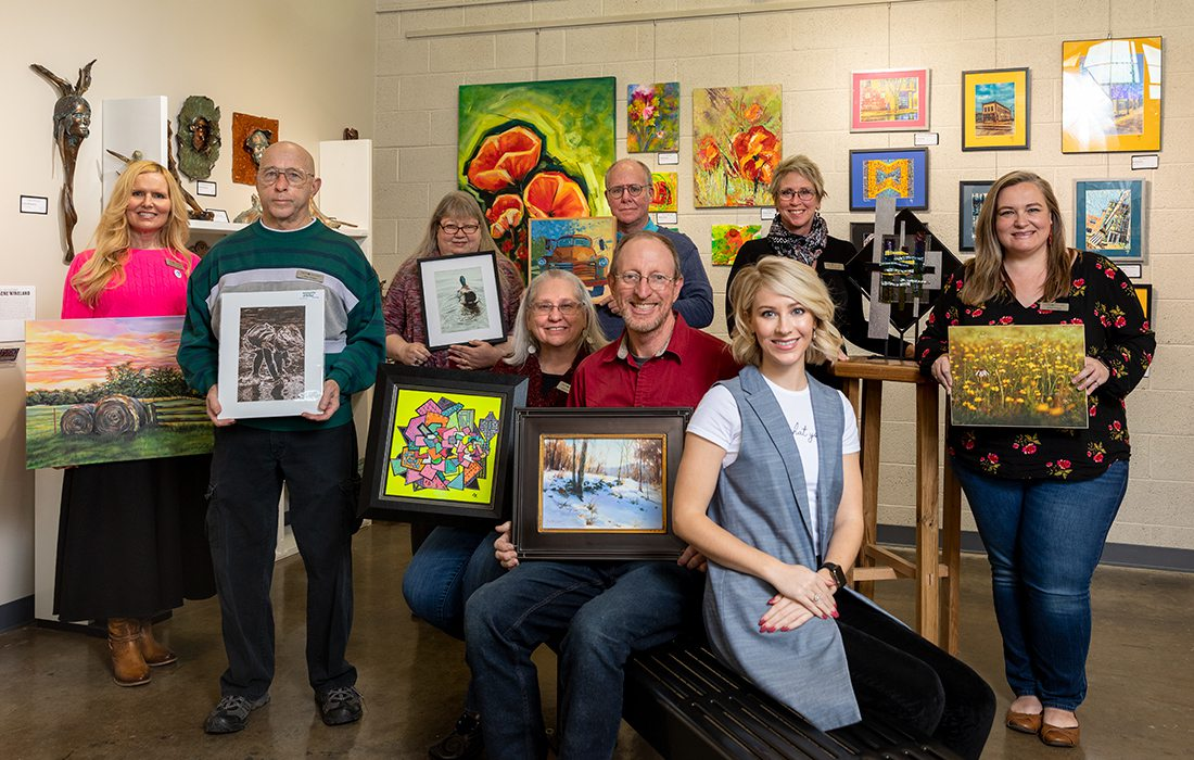 Fresh Gallery artists in downtown Springfield MO