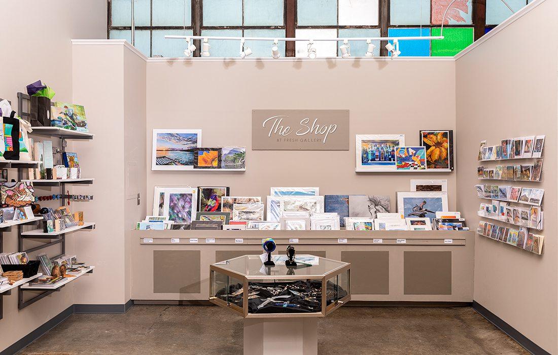 Gift shop at Fresh Gallery Springfield MO