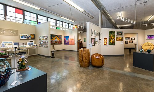Fresh Gallery space in downtown Springfield MO