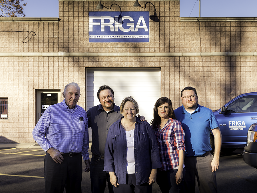 Employees of Friga Construction Springfield MO