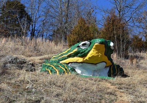 Frog Rock in Waynesville, MO