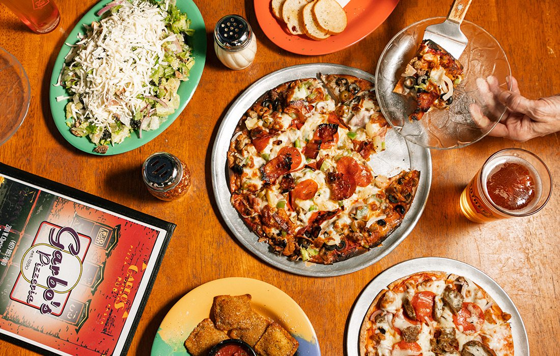 Spread from Garbo's