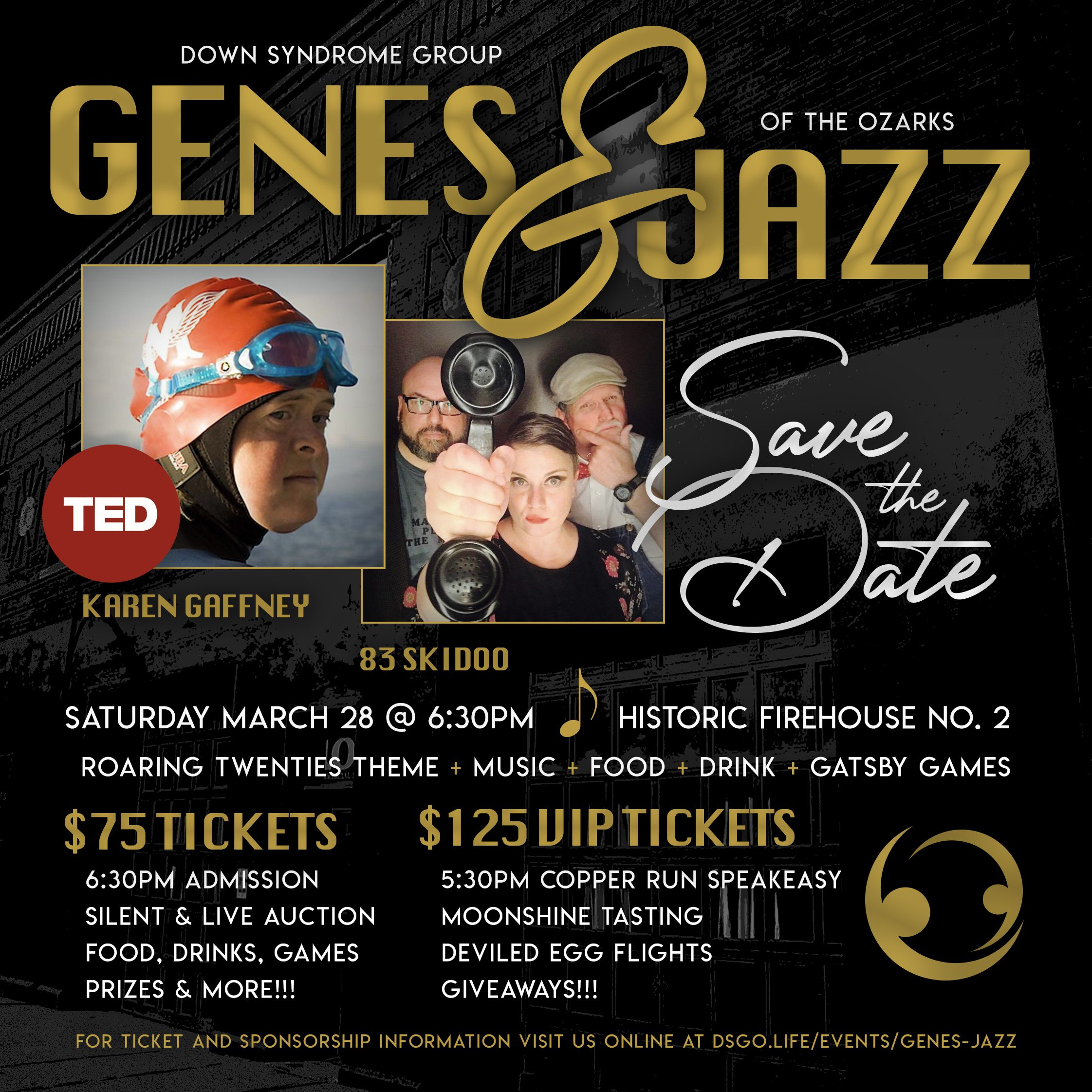 Genes & Jazz hosted by Down Syndrome Group of the Ozarks