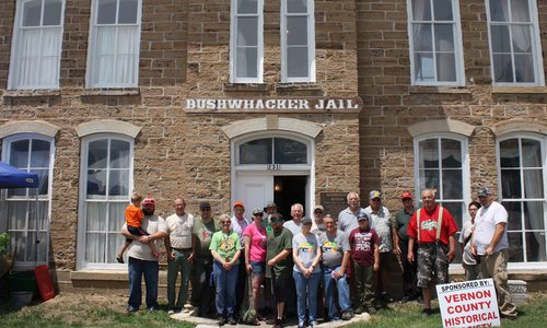 Bushwhacker Museum in Vernon County, Missouri