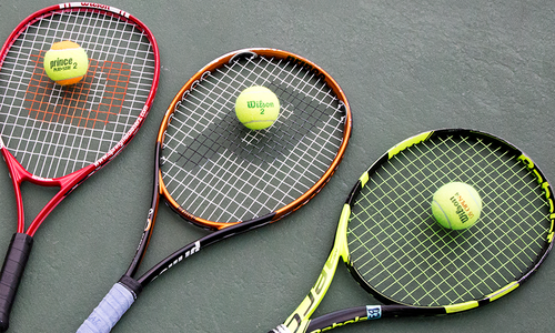 Get Fit: Private Tennis Lessons at Cooper Tennis Complex