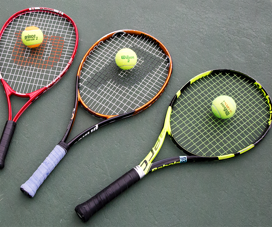 Up your tennis game by taking private lessons at Cooper Tennis Complex.