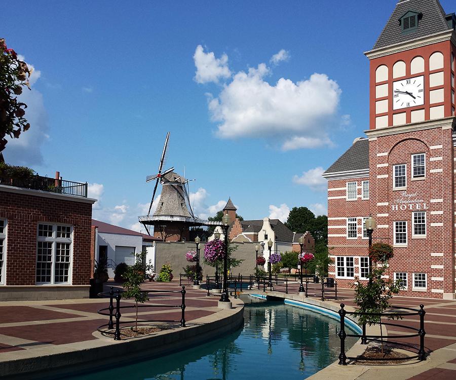 Surround yourself with Dutch charm in Pella, Iowa.
