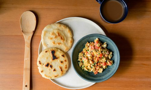 Traditional Colombian dish photo by Danielle Giarratano