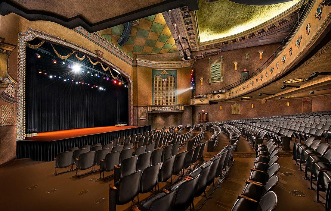 Historic Gillioz Theatre Stage Springfield MO