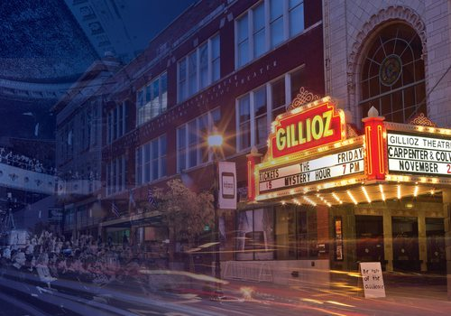 Gillioz Theatre Downtown Springfield MO