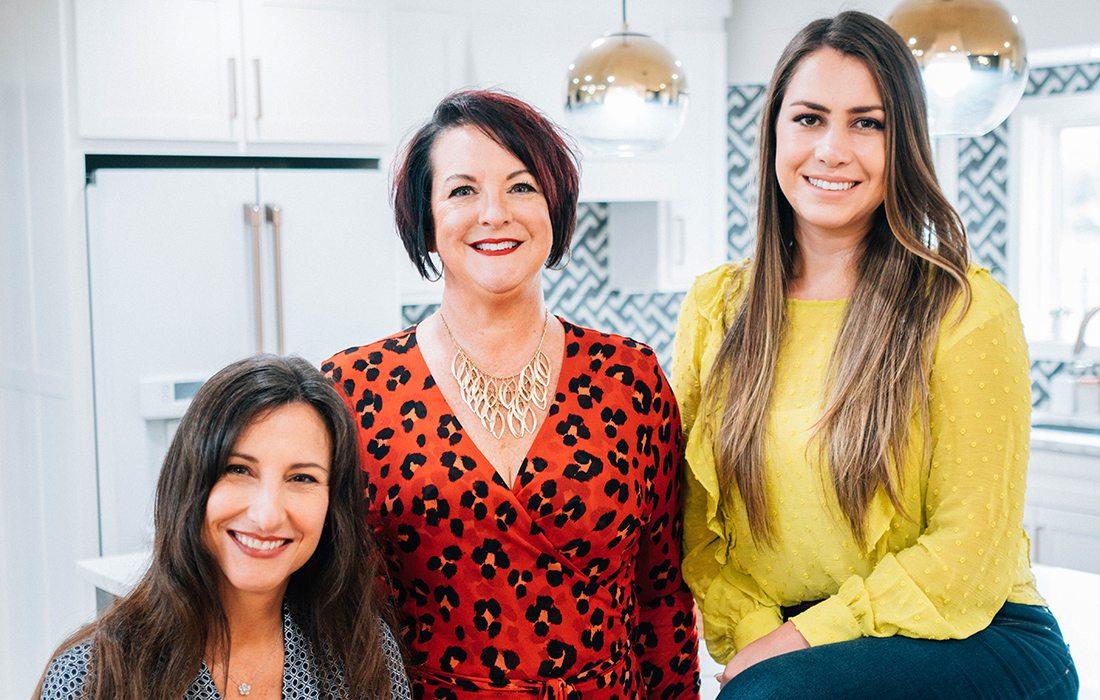 Cathy Ritz, Gina McMurtrey, Fernanda Edwards of GMI Design Group Springfield MO