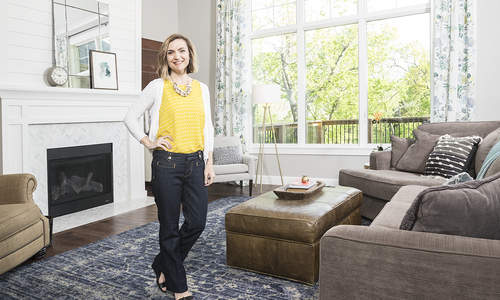 Inside Interior Designer Ginger Robinson's Home