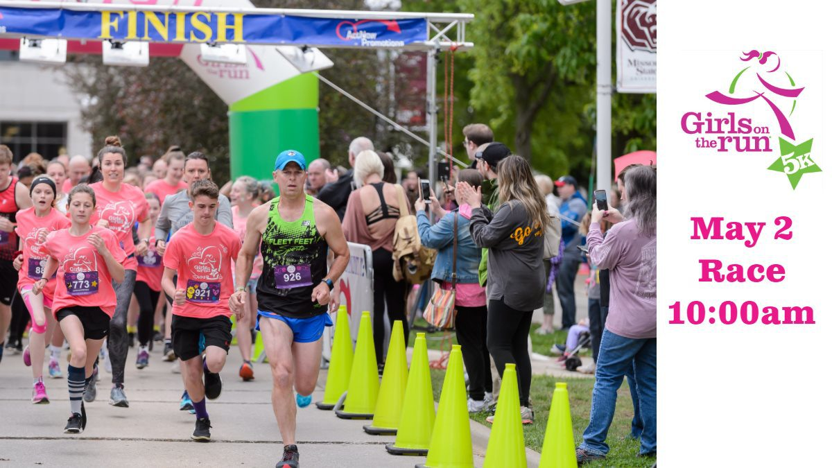 Runners at Girls on the Run 5K