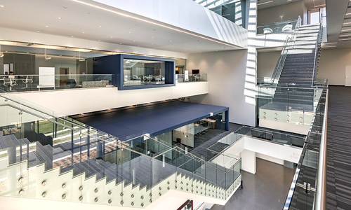 A Clear Vision: Glass Hall's Renovation and Expansion