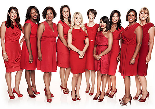 Women Wearing Red to Support Healthy Hearts for Women in Springfield, MO