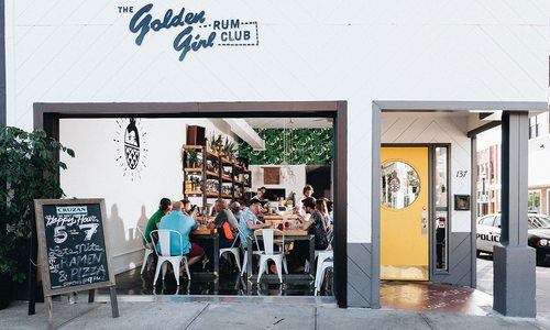 Golden Girl Rum Club outdoor seating