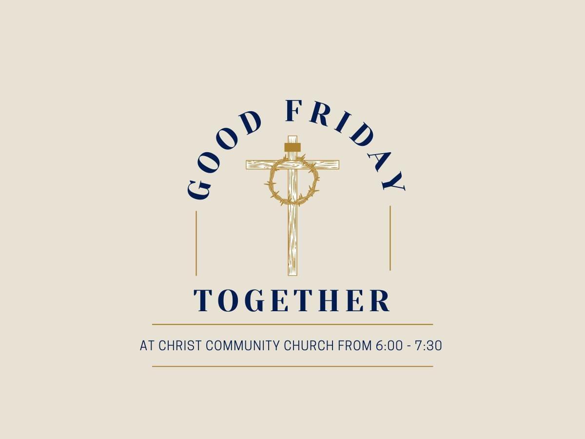 Good Friday logo