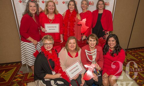 Go Red for Women Luncheon 2018