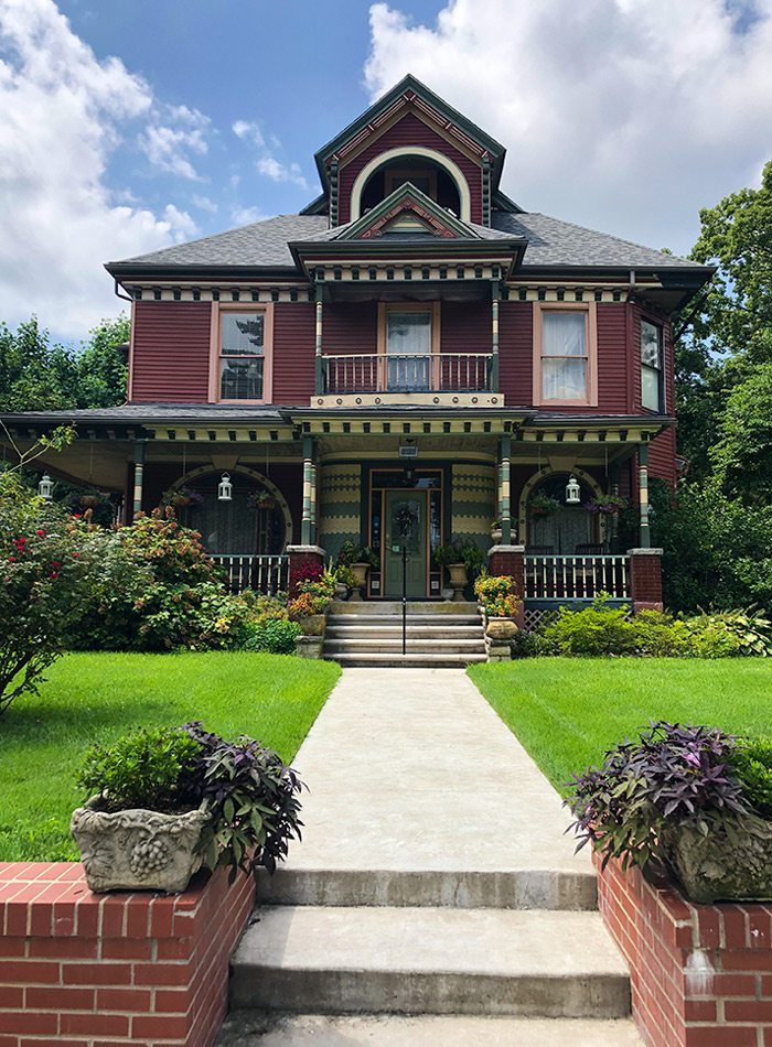Historic home in Carthage Missouri