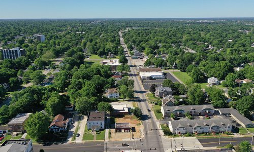 Aerial photo of Springfield