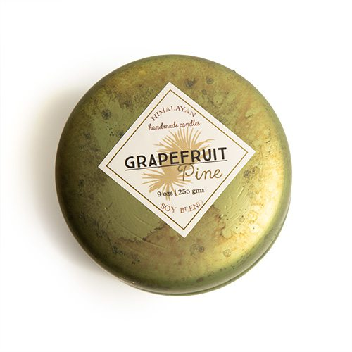 Grapefruit Pine Candle by Himalayan Trading Post