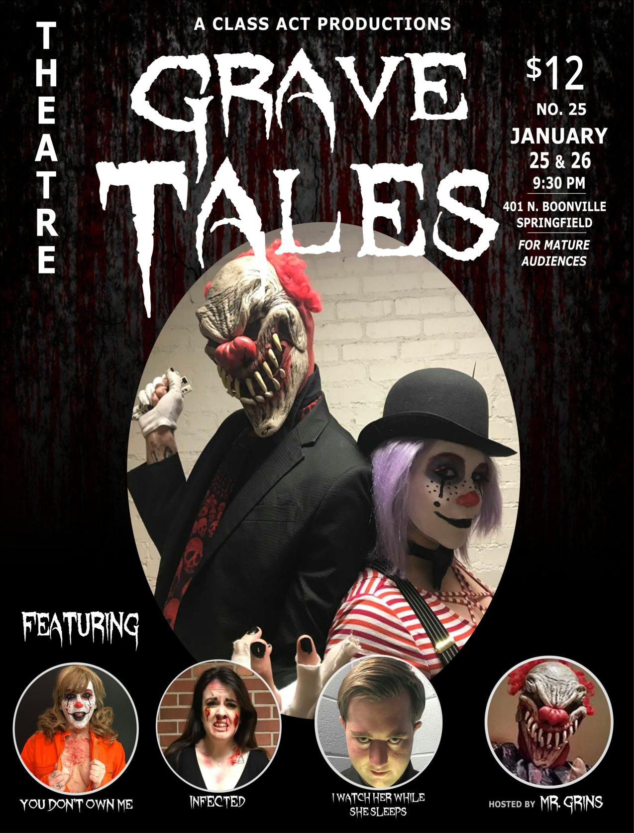 Live Horror Comedy in Springfield MO