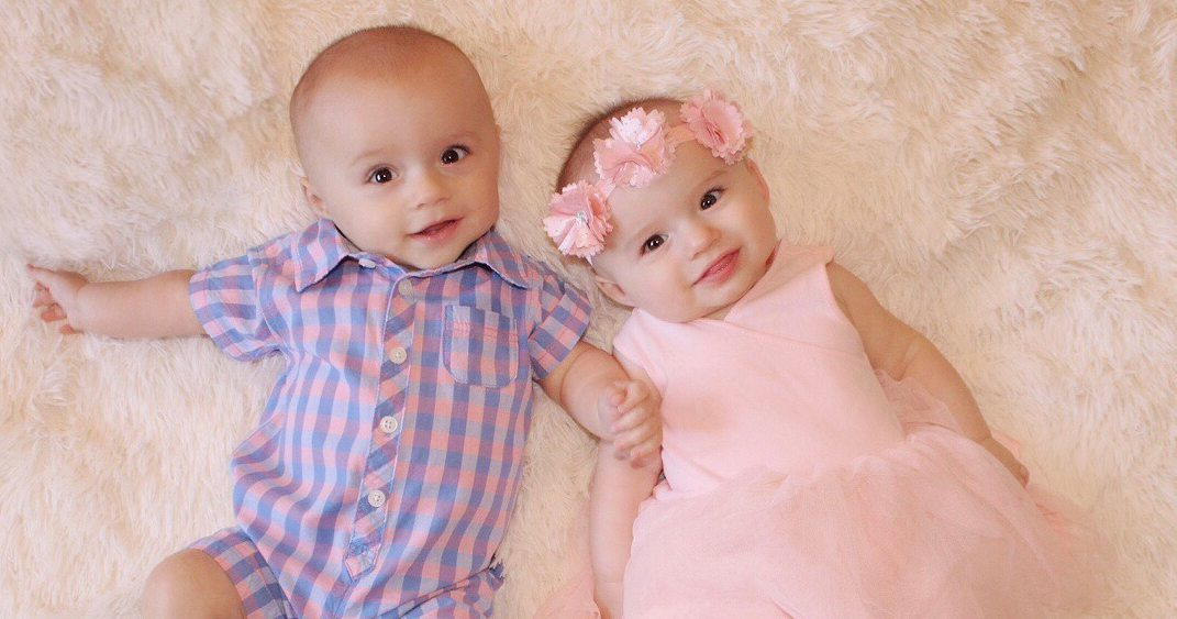 Grayson and Olivia Diggett Cutest Baby Finalist