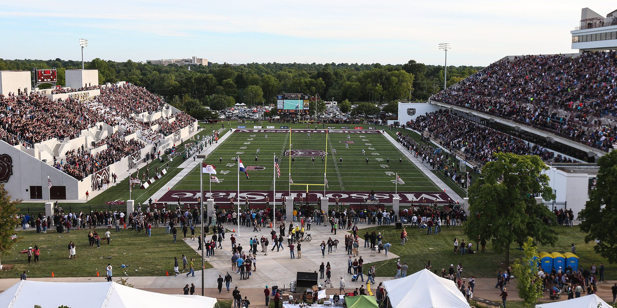 Missouri State Bears football game