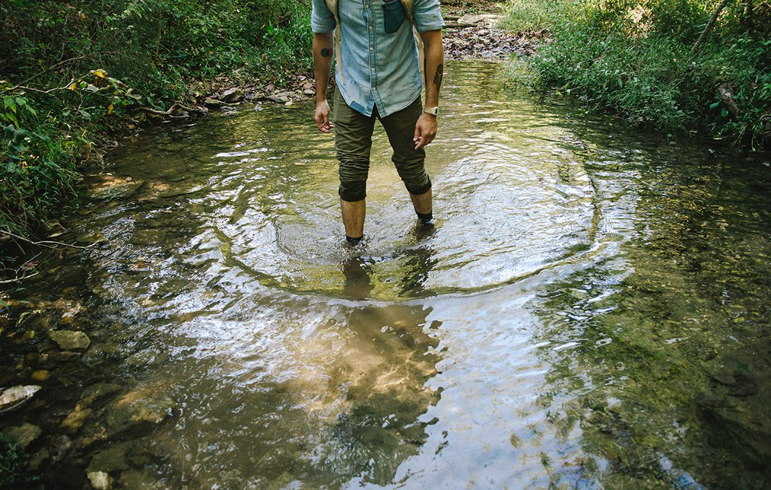 Devil's Creek Trail in Arkansas