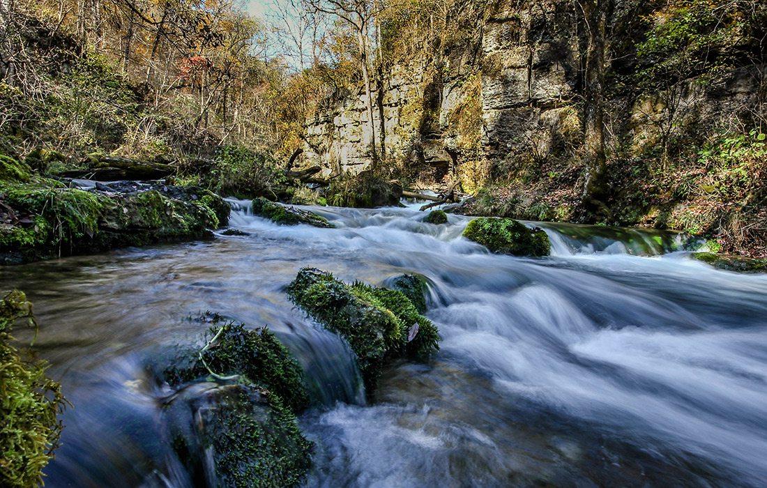 Greer Spring Trail in Missouri