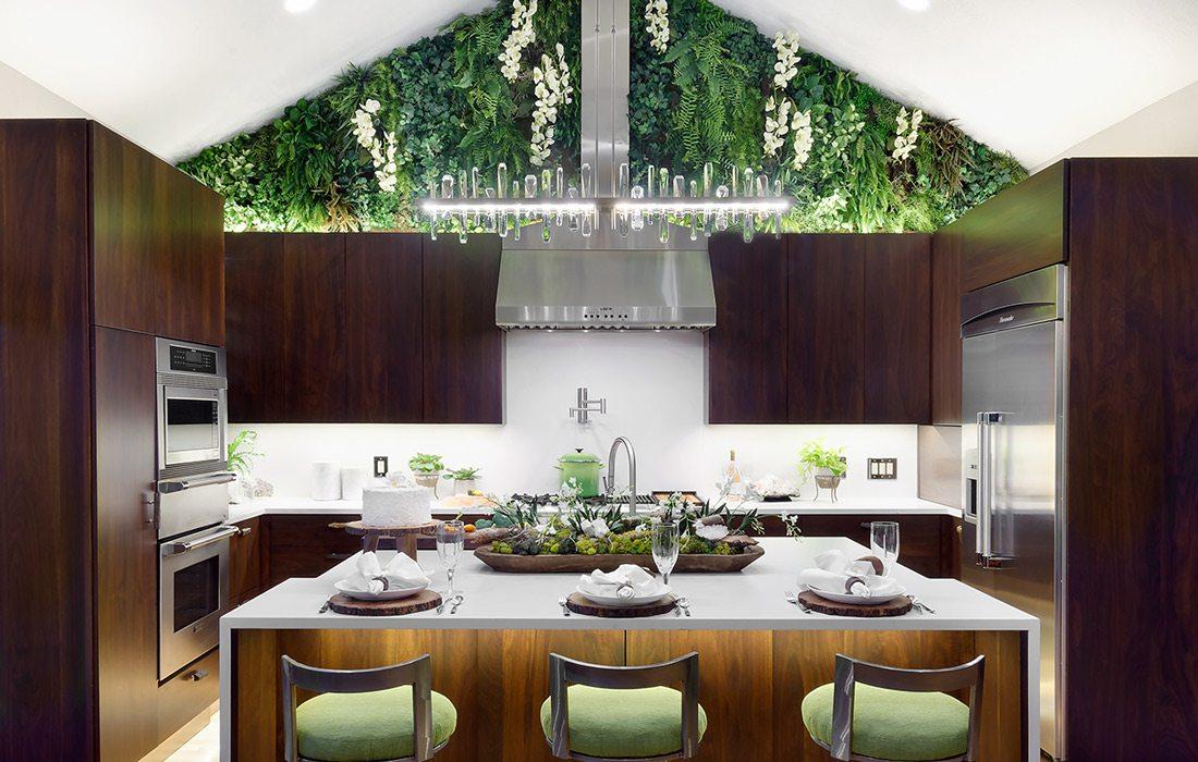 Nature inspired kitchen design