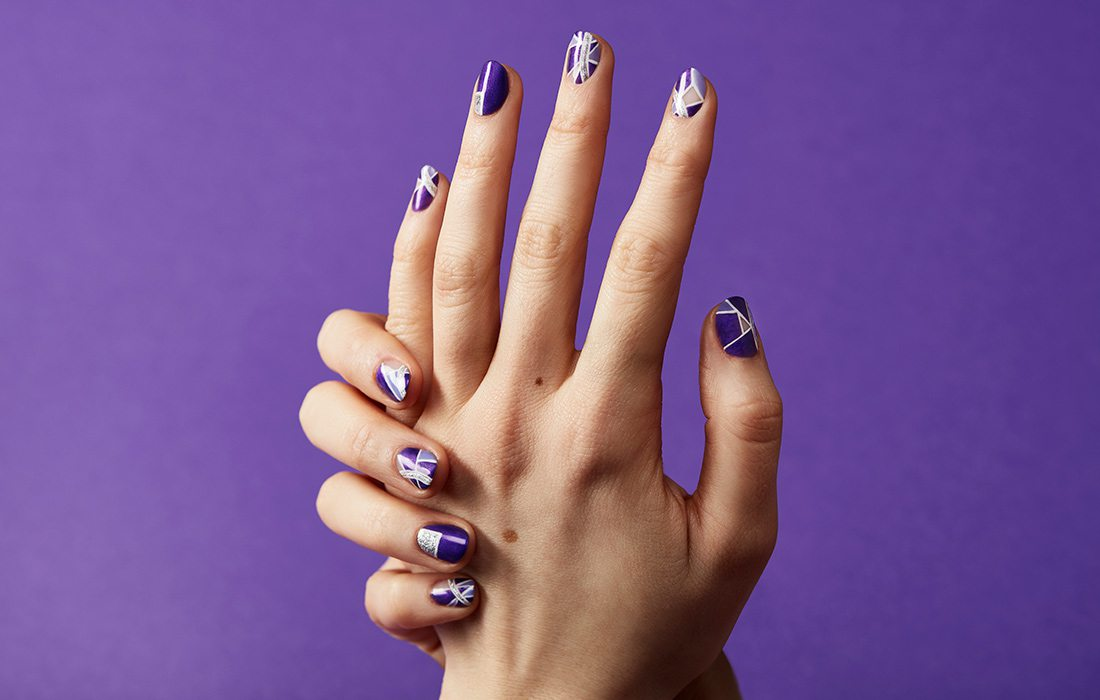 Purple Trend: Nails
