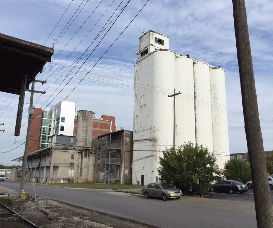 Thanks to Vertical Innovations, the MFA grain elevators and silos in Springfield will no longer be empty.