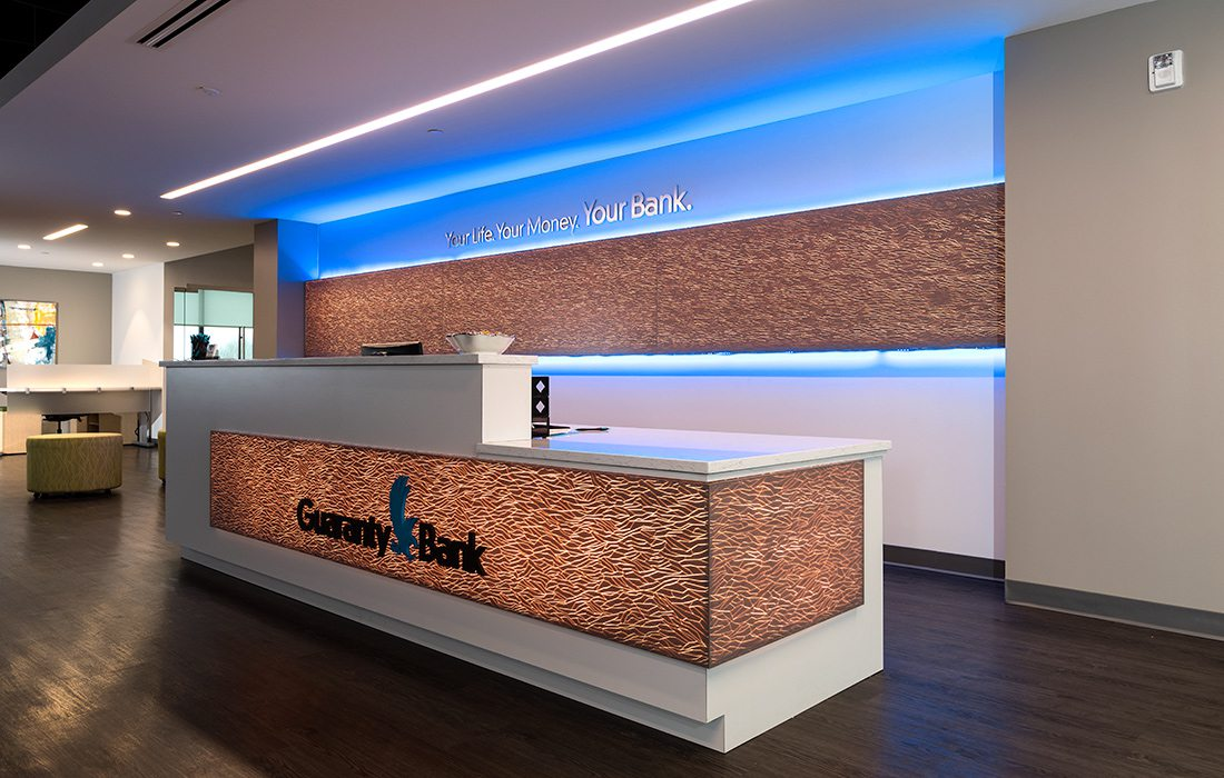 Guaranty Bank Second-Floor Reception