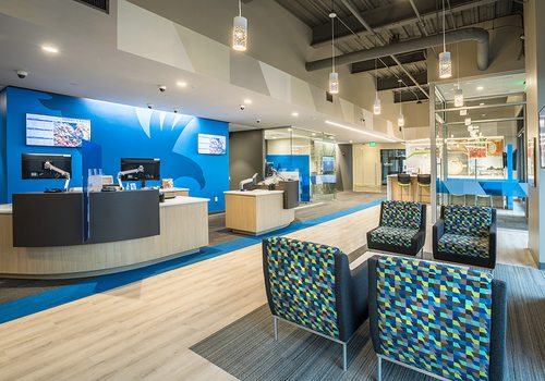 Step Inside Guaranty Bank's New Headquarters in Farmers Park