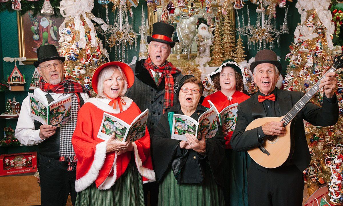Dickens Carolers Christmas Carolers Branson MO
