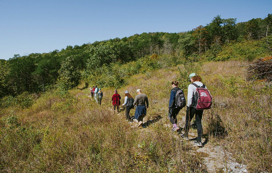 Guided hike with 37 North Expeditions