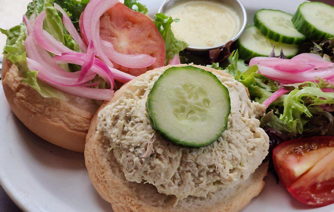 Gluten free dish at Cafe Cusco