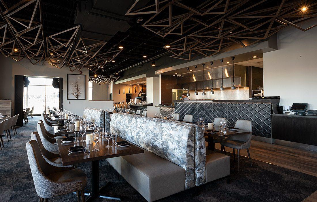 Interior of Progress restaurant in south side Springfield MO