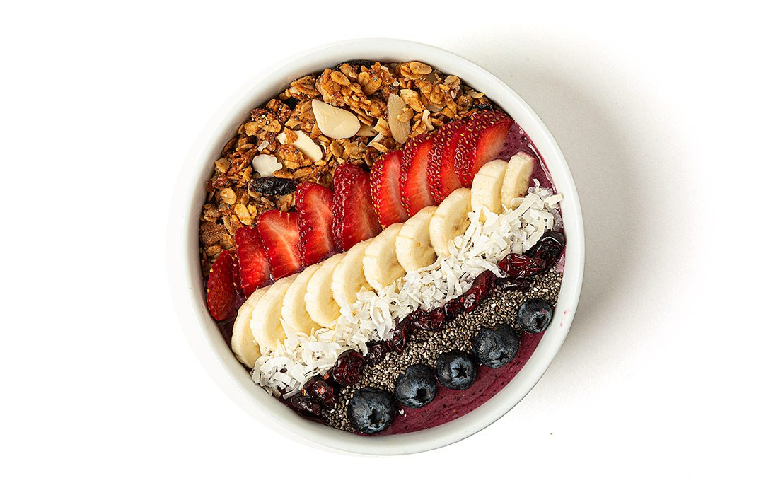 Beauty Bowl at The Press Coffee & Juice Bar in Springfield MO
