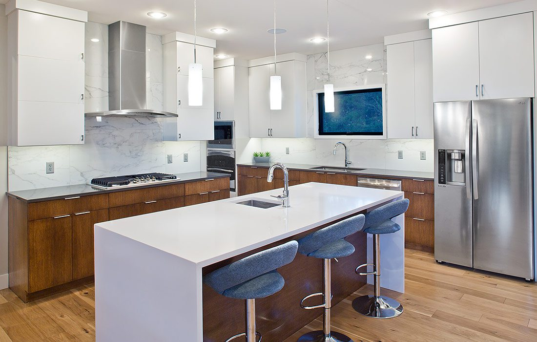 Less than $500,000 Homes of the Year Winner Modern Fortress Home Kitchen